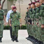 Sultan of Brunei visits SAF's Pasir Ris Camp