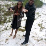 Check out PHOTOs from the 'snowfall' that brought business in Nyahururu to a halt.