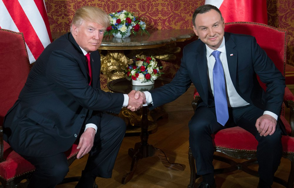 Live updates from President Trump's trip to Poland, ahead of the G20 summit in Germany