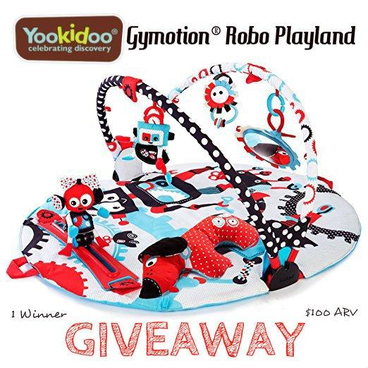 Yookidoo Gymotion Robo Playland Giveaway (7/22 US)