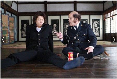 信長協奏曲でニヤとしたシーン(信長協奏曲の斉藤道三はタイムスリップする前は1972年で警察官をしていた)