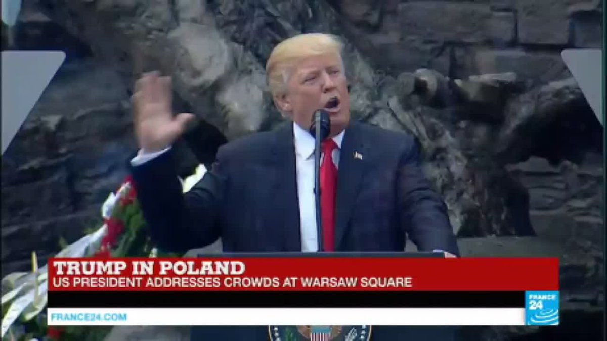"?? Trump in Poland: ""Europe must do more!"""