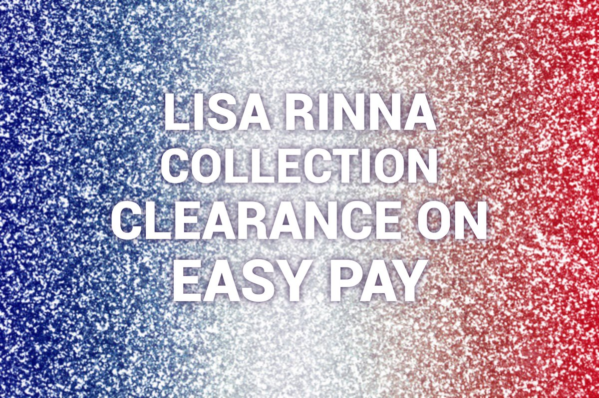 Lisa Rinna Collection Clearance Items on Easy Pay now through July 14th! https://t.co/pk9VKoAEIx https://t.co/LvPiakxIeM