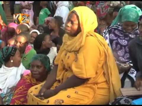 Kilifi woman Rep.Aisha Jumwa asks the youth to shun violence