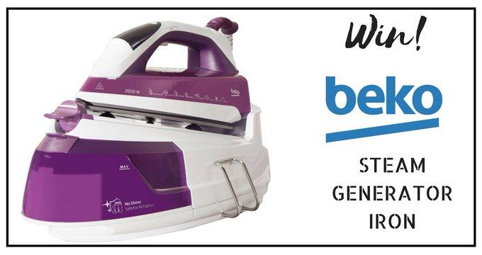 Win a Beko Steam Generator Iron