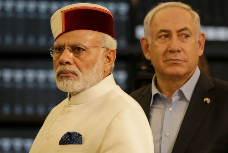 The prime ministers of India and Israel have much in common