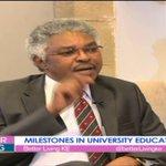 Fr. Dominic Wamugunda reflects on milestones in Kenya's university education