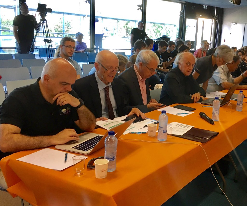 """Judges at international final of Odysseus space contest face tough choices - quality of projects and presentations """"very high"""" @CiteEspace https://t.co/Rx349osOvF"""