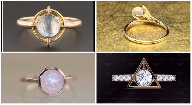 Twenty amazing Harry Potter-inspired engagement