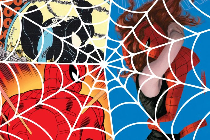 We're taking a look at the 25 most amazing @Marvel SpiderMan covers ever: