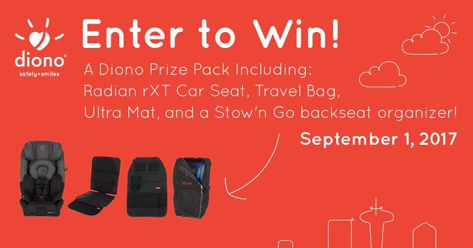 #WIN a Diono car seat prize pack [9/01]