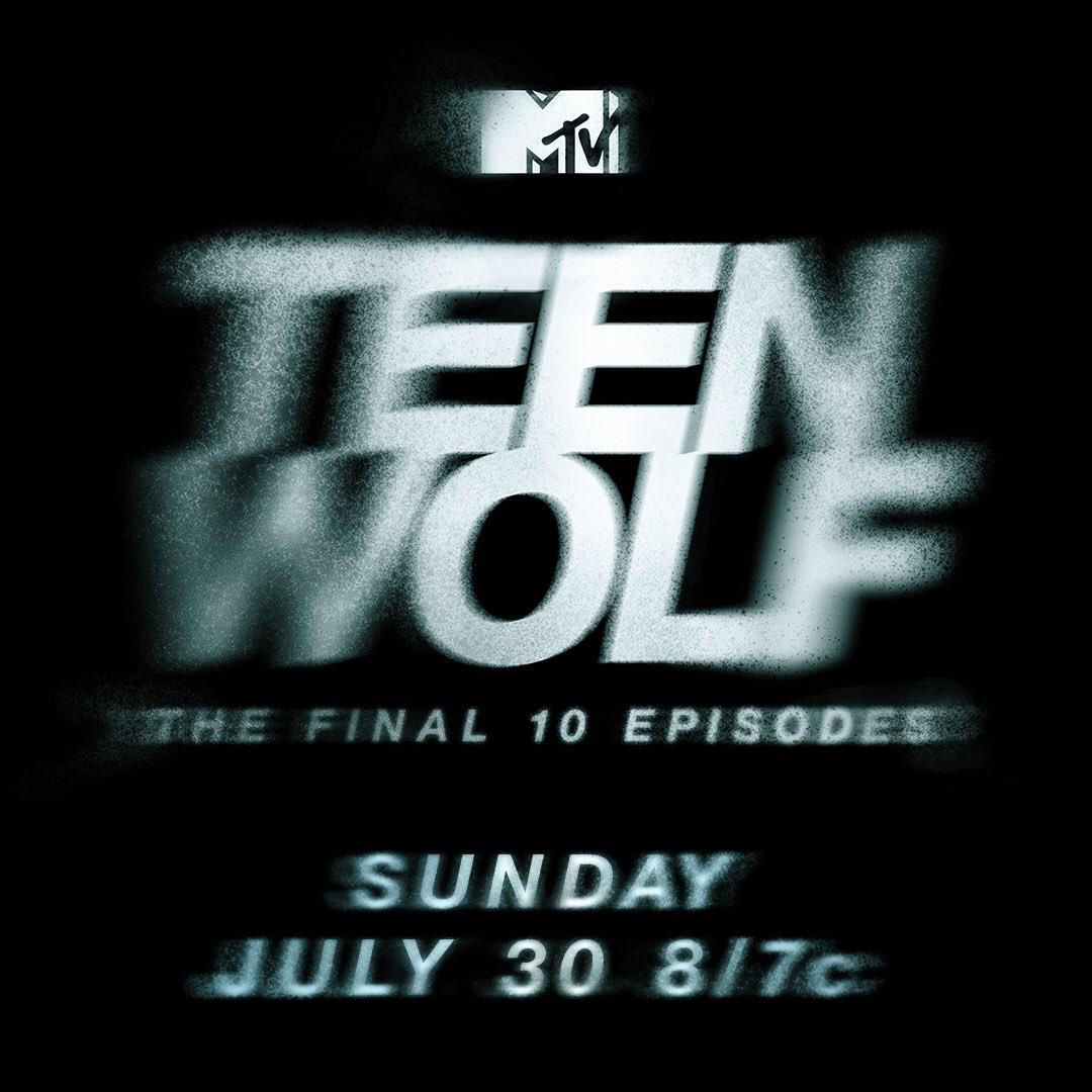 Premiere of final 10 #teenwolf not to be confused w #teenmom