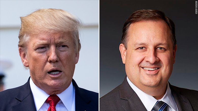 Walter Shaub, director of the Office of Government Ethics, is resigning