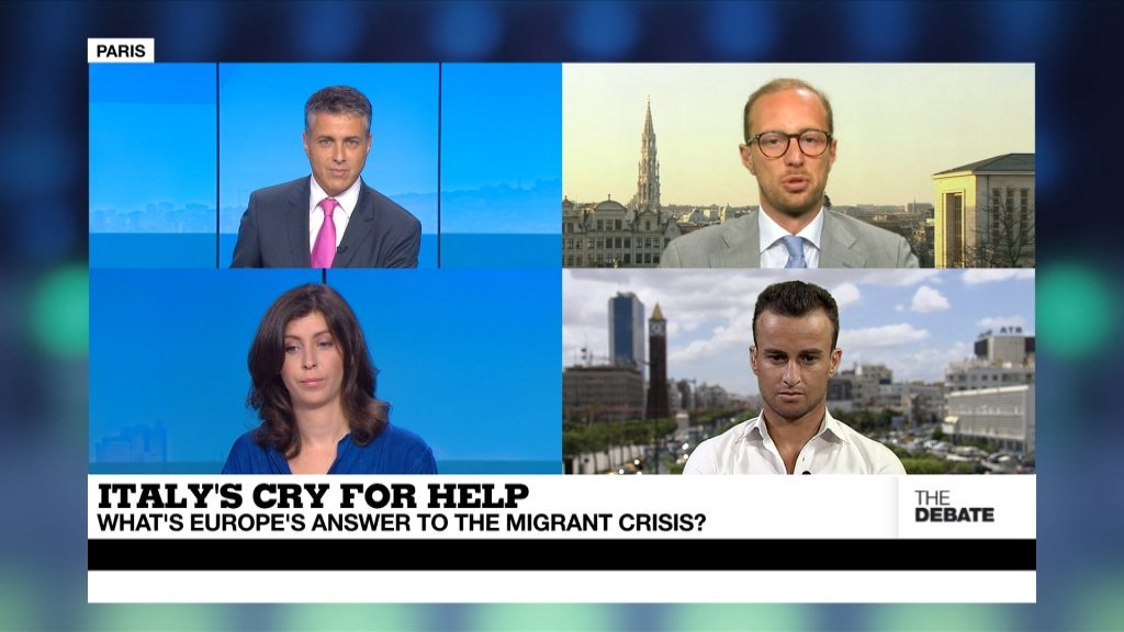 THE DEBATE - Italy's cry for help: What's Europe's answer to the migrant crisis