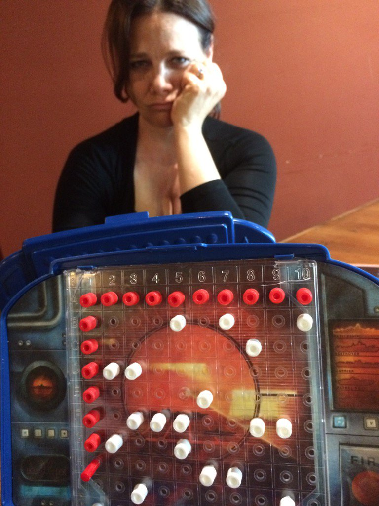 Lookit this dumbass and her weak BATTLESHIP spacing. #engagementcancelled @GamehausCafe https://t.co/DPK15lukEF