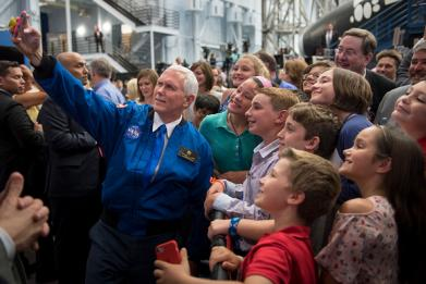 Mike Pence loves space, but does he jive with NASA's science?