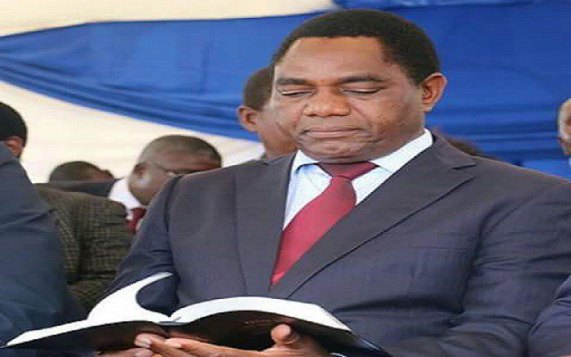Zambia president blames rivals for state of emergency