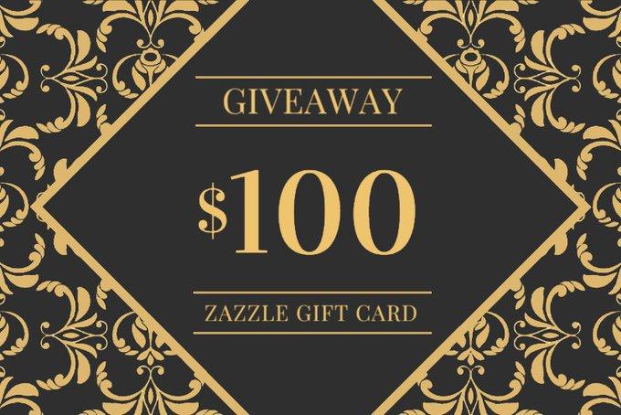 $100 Zazzle Gift Card