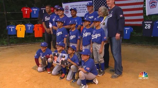 New York City Little League honors fallen police officer by helping community