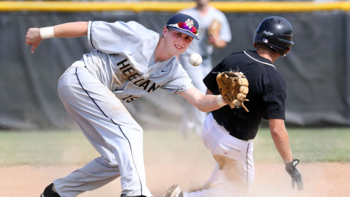 Photos: Heelan at East High baseball