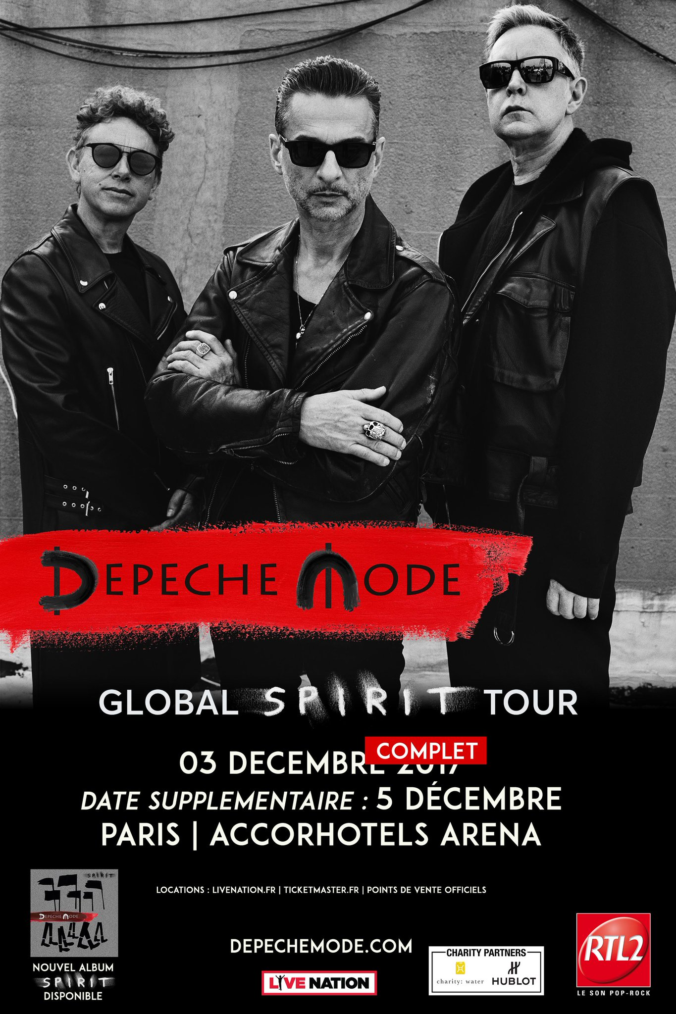 Second Paris show just added on December 5 at AccorHotels Arena! Tickets available now at https://t.co/joAcBEm3HH. https://t.co/EzBwa6HjzQ