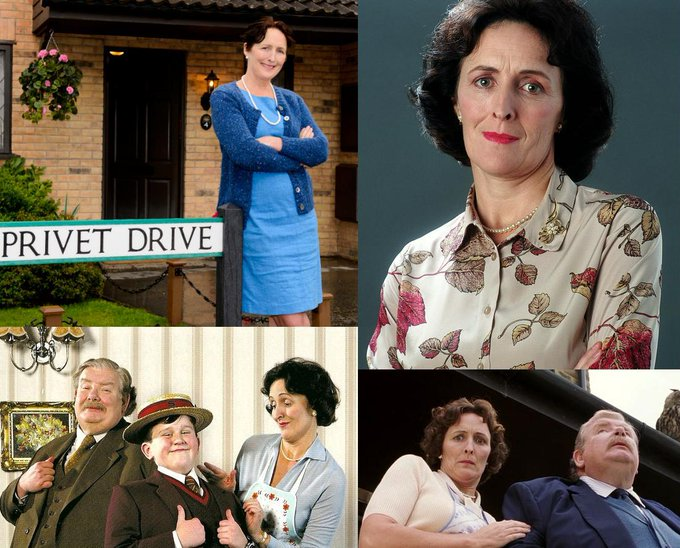 Happy Birthday to Fiona Shaw! She played Petunia Dursley in the Harry Potter Films.