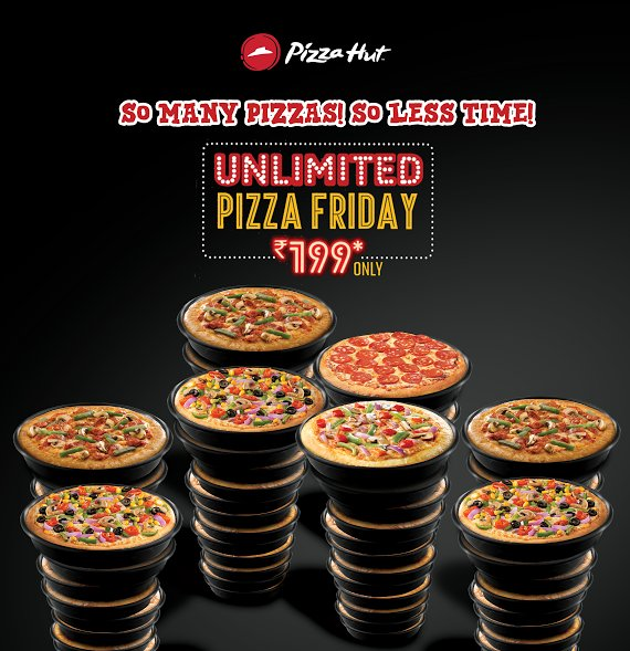 Fridays are for eating unlimited pan pizzas Get yours now UnlimitedPizzaFriday https t.co 8M3qCTT5LA