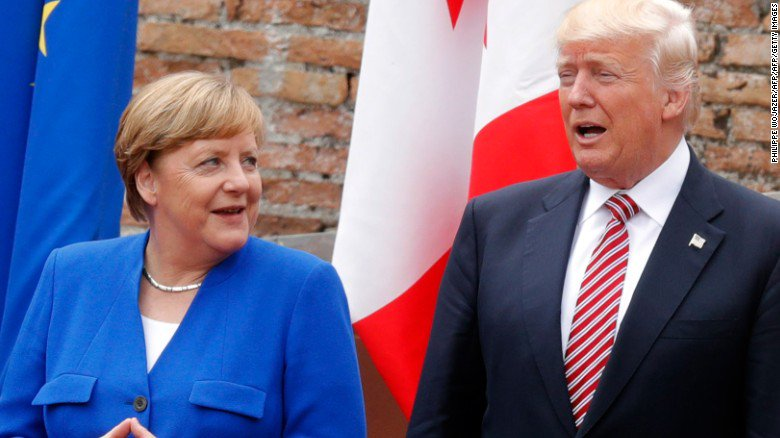 Is Angela Merkel sending a message to Donald Trump with her G20 music choice of Ode to Joy?
