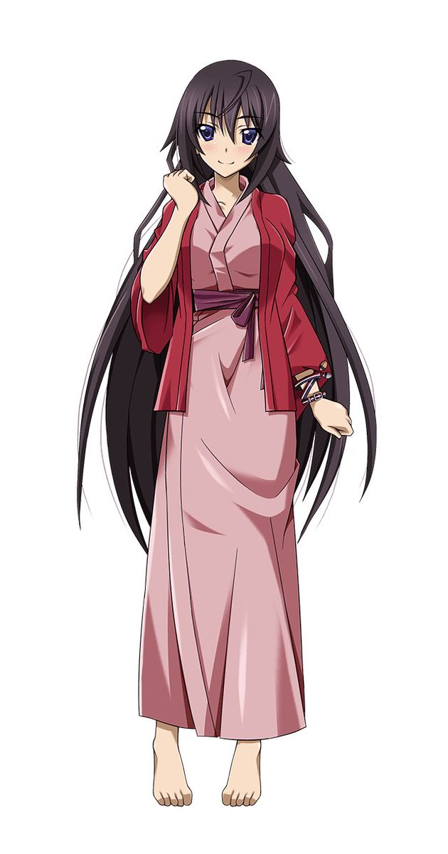 箒誕生日おめでとう!笑顔の時と照れた時の顔がめっちゃ可愛い!巫女さん姿なんてマジ最高!#7月7日は篠ノ之箒の誕生日 #篠