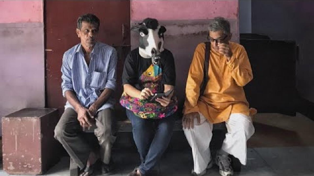 ?? Are cows safer than women? Photographer protests India's 'double standards'