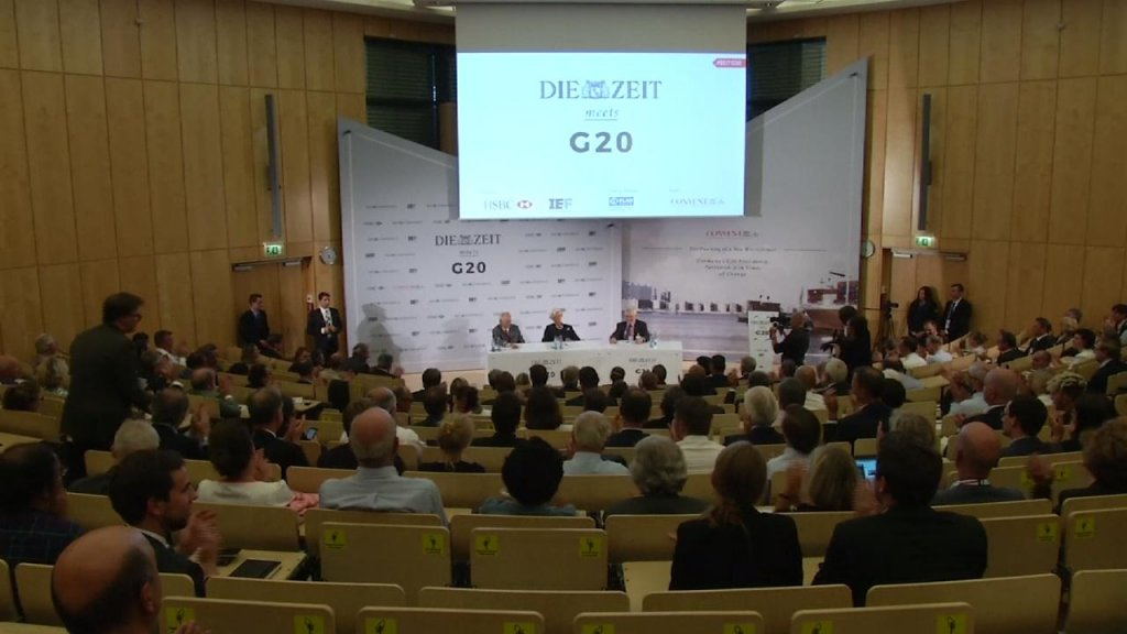 BUSINESS DAILY - European leaders warn against protectionism at G20