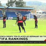 Kenya drops ten places as Germany go top on FIFA Ranking
