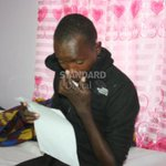 Form four student partially blind after taking methanol
