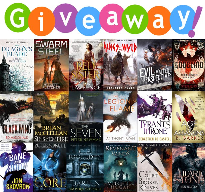Ridiculously Huge Giveaway