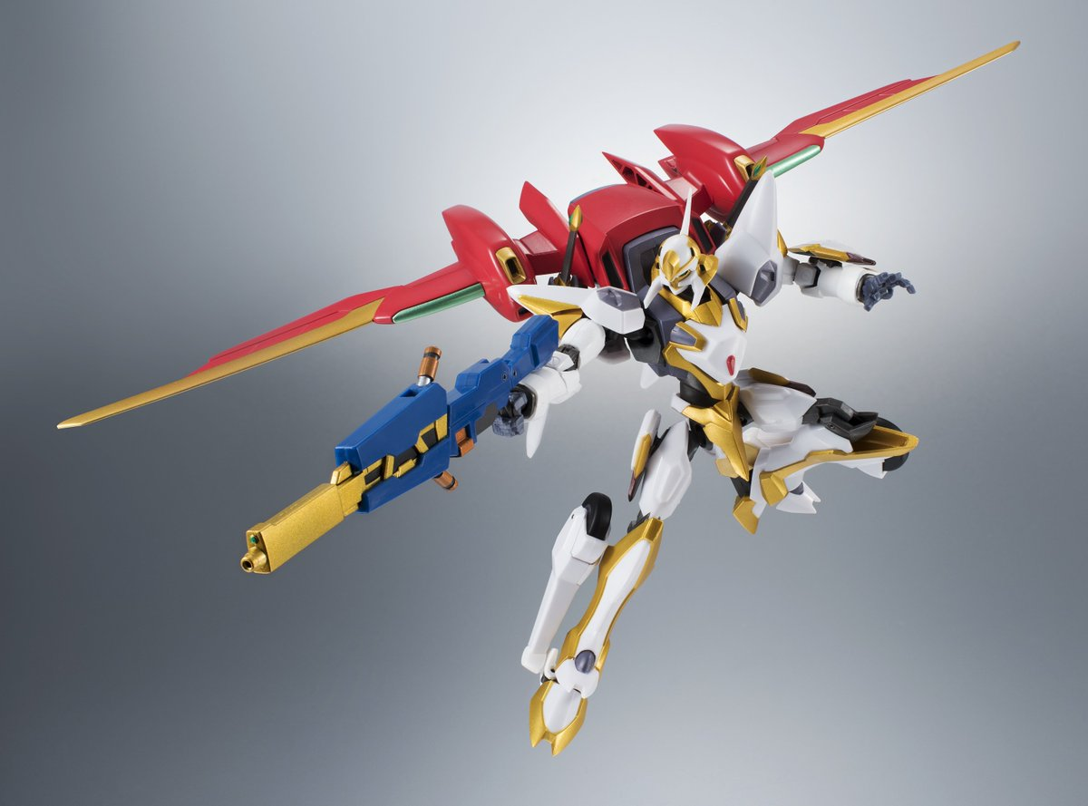 ROBOT魂コードギアスシリーズ復活!第一弾は「ランスロット・エアキャヴァルリー」と「紅蓮(甲壱型腕装備)」!! #ge