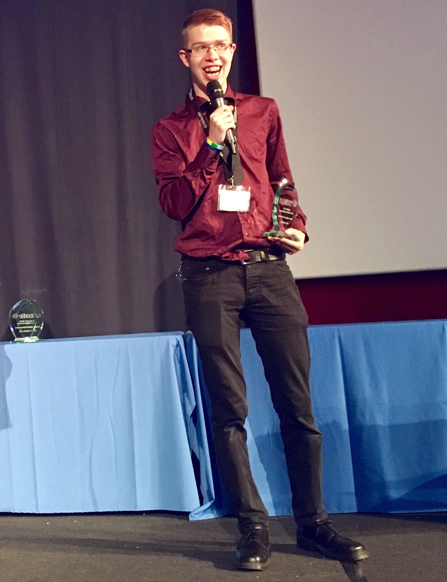 🥈Explorer Aleksander Knutsen of Norway - 2nd place winner at international final of Odysseus space contest 2017. Congratulations! https://t.co/bOMnSMROH7