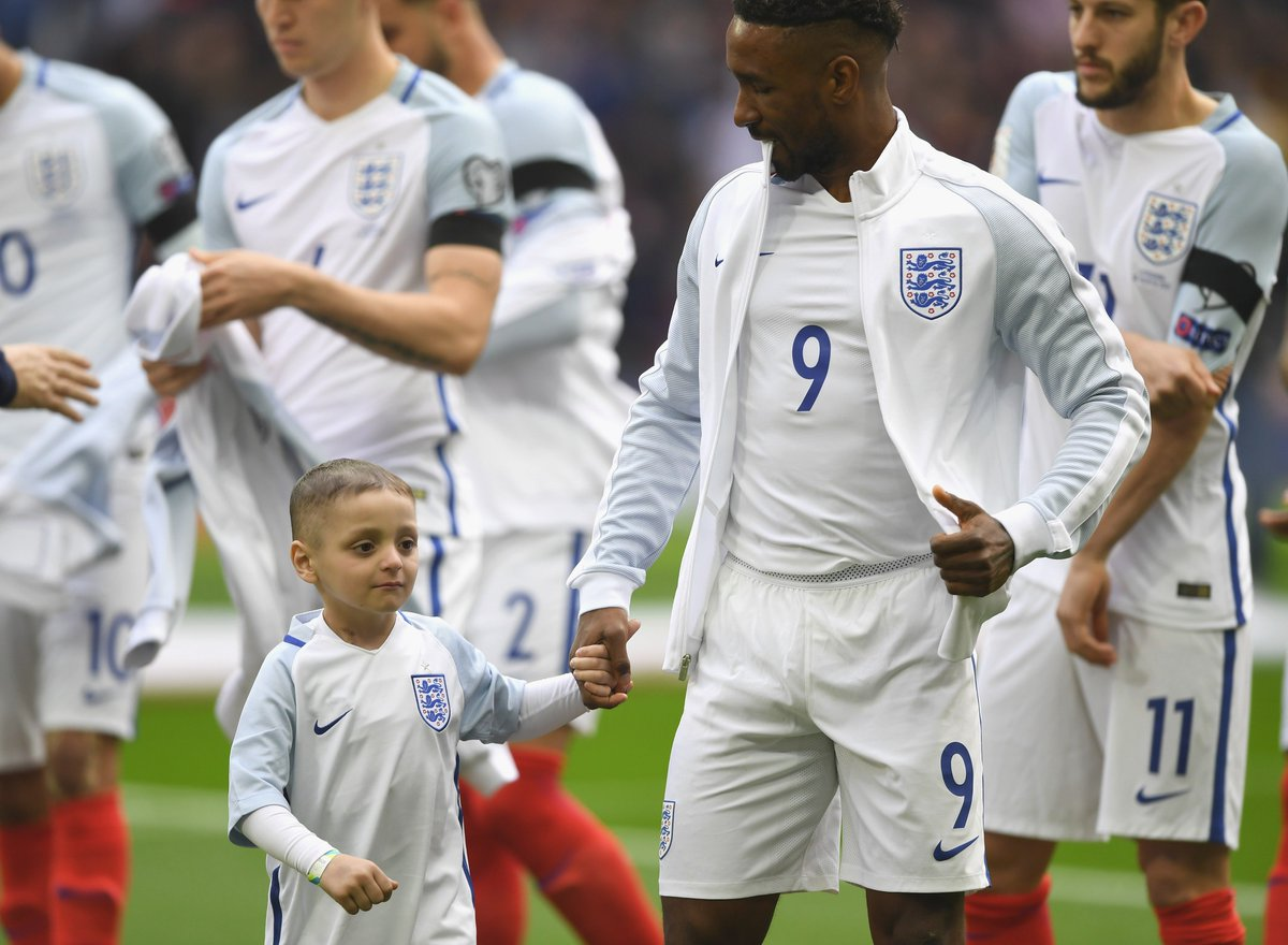 RT @FIFAcom: Today, the football world lost one of its bravest fans.  Rest in peace, Bradley Lowery. https://t.co/x3dhF7yvaO