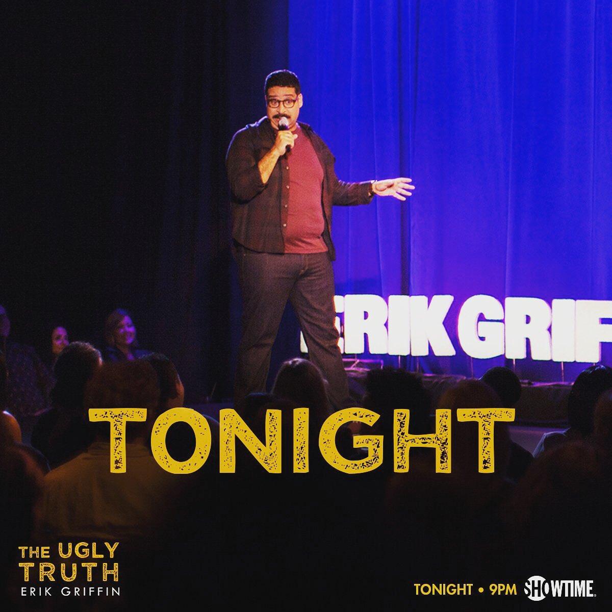 Watch my buddy @ErikGriffin make them laugh tonight! Congrats buddy https://t.co/xCMItWnpgv
