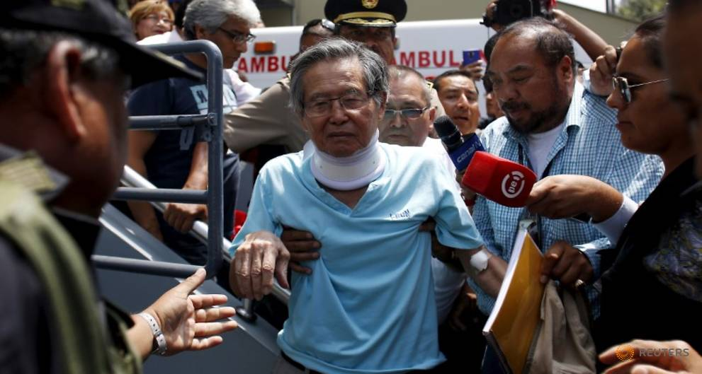 Peruvians set to protest against possible pardon for jailed Fujimori