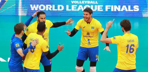 Liga Mundial de vôlei Brasil vence os EUA e chega a sua primeira final após era Bernardinho