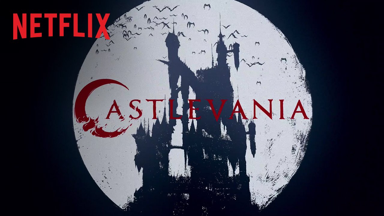 Castlevania title sequence ⚰️ 4 episodes now streaming, 8 more in the works https://t.co/i7o6vdDQYi