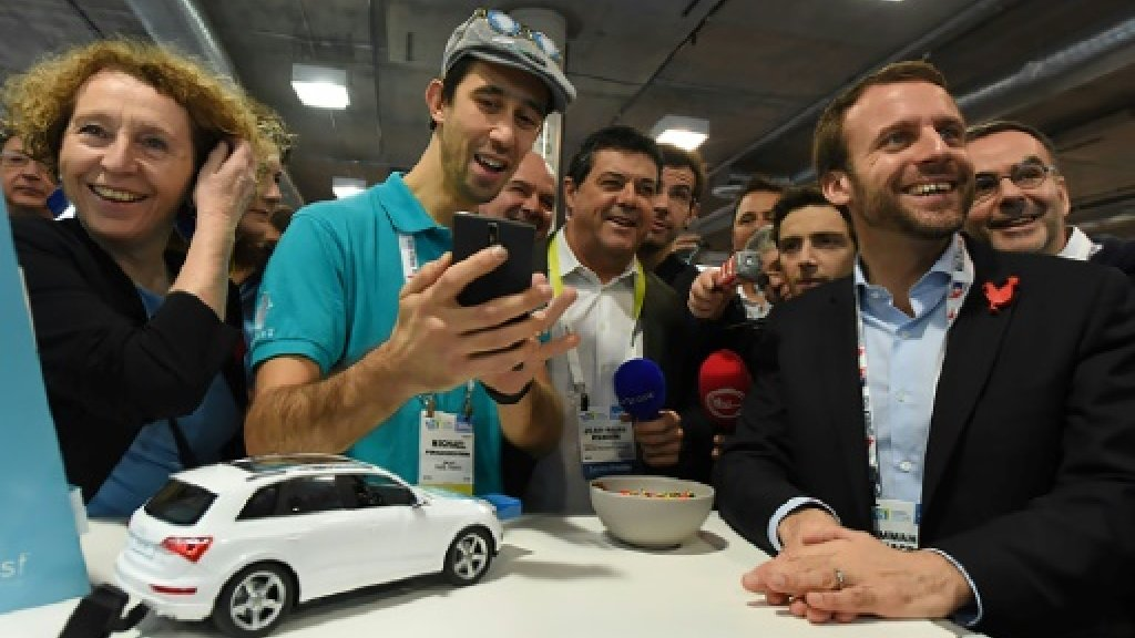 Probe opened into Vegas event featuring France's Macron