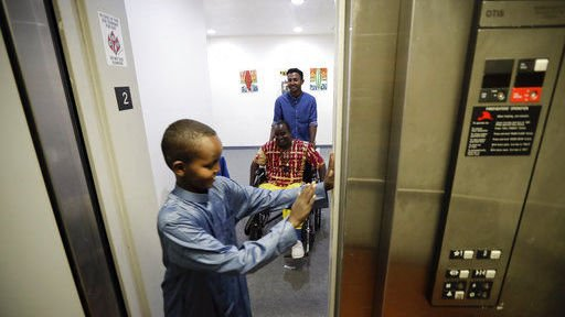 Somali refugee relieved to get to US before travel ban rules