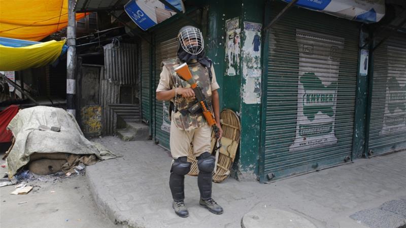 India puts Kashmir on lockdown for rebel leader Burhan Wani's death anniversary