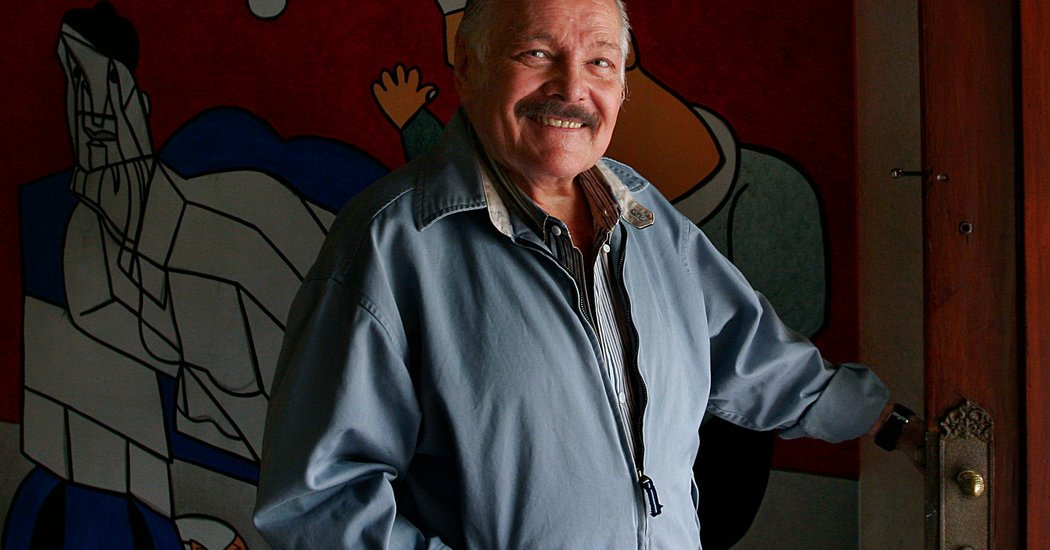 José Luis Cuevas, a Dark Master of Mexican Art, Dies at 83