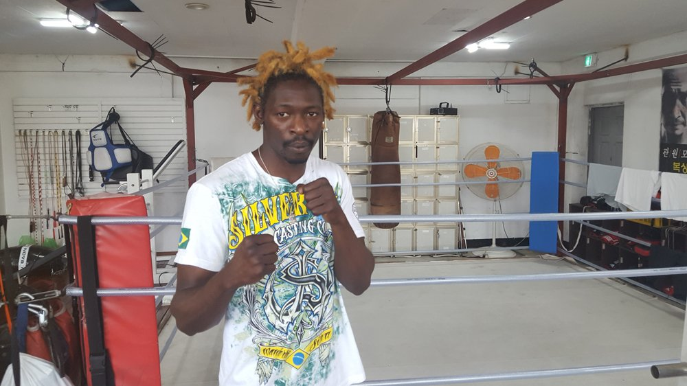 The boxer fighting for asylum in South Korea