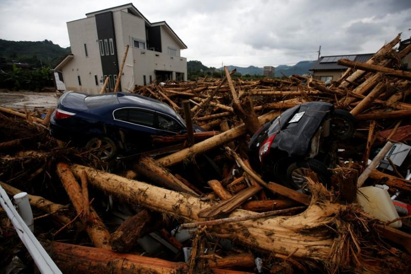 More heavy rain forecast for Japan as death toll rises to 16