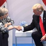US President Donald Trump says US hopes for quick trade deal with UK