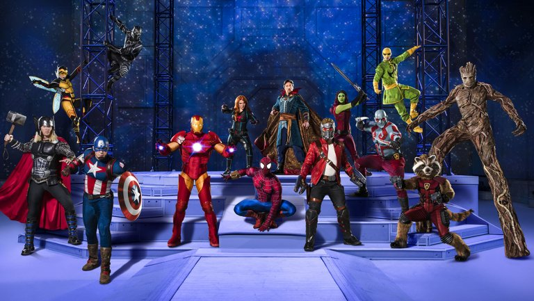 What it's like to fight a real superhero at Marvel's new live show