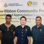 Community volunteers lauded for helping inmates and their families